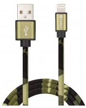 Кабел Sandberg - Lightning, Green Camouflage  -1