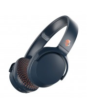 Слушалки с микрофон Skullcandy - Riff Wireless, blue/speckle/sunset