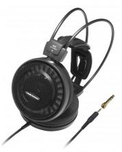 Слушалки Audio-Technica - ATH-AD500X, hi-fi, черни -1