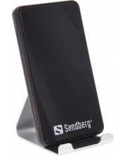 Безжично зарядно Sandberg - 441-07, 10W, сиво -1
