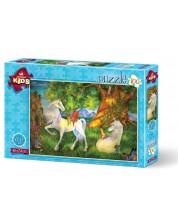 Пъзел Art Puzzle от 100 части - Красивите коне