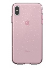 Калъф Speck - Presidio Clear за iPhone XS Max, розов