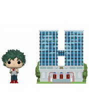 Фигура Funko POP! Town: My Hero Academia S6-  Deku in Uniform with High School