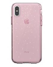 Калъф Speck - Presidio Clear за iPhone XS/X, розов