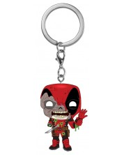 Ключодържател Funko Pocket POP! Marvel Zombs - Deadpool -1