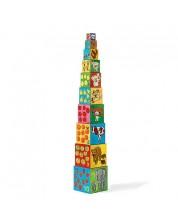 Пирамида от кубчета Djeco - Моите приятели