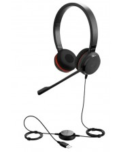 Слушалки Jabra Evolve - 20 MS, черни