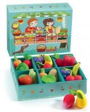 Детски комплект за игра Djeco - Плод и зеленчук -1