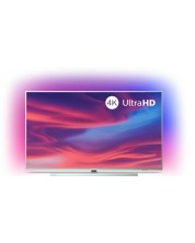 "Смарт телевизор Philips - 43PUS7304, 43"", 4K UHD LED, сребрист"