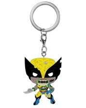 Ключодържател Funko Pocket POP! Marvel Zombs - Wolverine -1