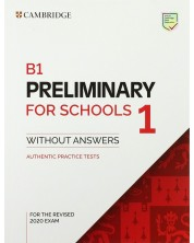 5 B1 Preliminary for Schools 1 for the Revised 2020 Exam Std.Bk w/o ans. -1