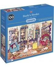 Пъзел Gibsons от 1000 части - Книгите на Барк, Линда Джейн Смит