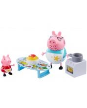 Комплект фигурки Peppa Pig - Kухня, с 2 фигурки -1