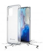 Калъф Cellularline - ClearDuo, за Samsung Galaxy S20, прозрачен