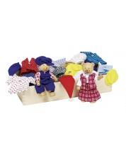 Кукли за обличане Goki - Мечешко семейство