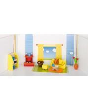 Детска дървена къща Goki - Дневна -1