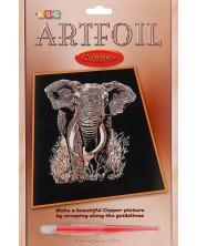 Творчески комплект за гравиране KSG Crafts - Слон