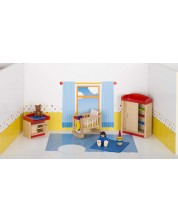 Детска дървена къща Goki - Детска стая -1