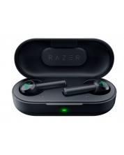 Гейминг слушалки Razer - Hammerhead True Wireless, черни -1