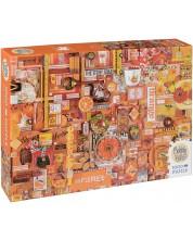 Пъзел Cobble Hill от 1000 части - Оранжево, Шели Дейвис -1