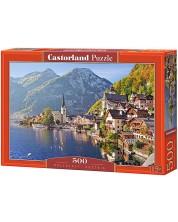 Пъзел Castorland от 500 части - Халщат, Австрия -1