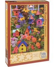 Пъзел Cobble Hill от 275 части - Къщички за птички, Дарел Гълин -1