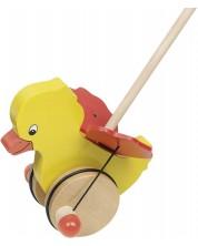 Дървена играчка за бутане Goki - Туиди -1