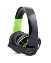 Гейминг слушалки Esperanza - Condor, зелени