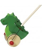 Дървена играчка за бутане Goki - Джакомо -1