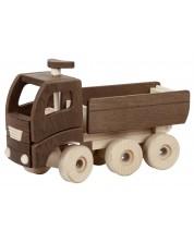 Дървена играчка Goki Nature - Самосвал -1