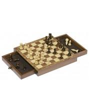 Класическа игра Goki - Детски шах, магнитен с чекмеджета