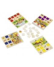 Дървена игра за памет Goki - Лотария