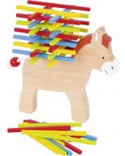 Дървена игра за балансиране Goki - Магаре