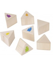 Дървена игра за памет Goki - Тежести