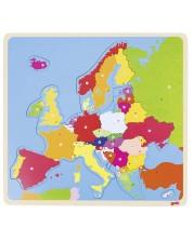 Дървен пъзел Goki - Европа