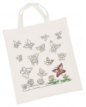 Памучна торба за оцветяване Goki - Пеперуди