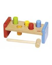 Дървена игра Goki - Удари с чукчето