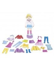 Кукла за обличане Goki - С магнитни дрехи