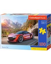Пъзел Castorland от 100 части - Спортна кола