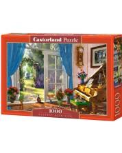 Пъзел Castorland от 1000 части - Изглед на стаята с вратата, Доминик Дейвисън -1