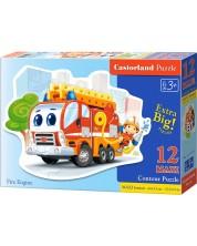 Пъзел Castorland от 12 XXL части - Пожарен камион -1