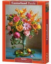Пъзел Castorland от 500 части - Есенни цветя -1