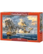 Пъзел Castorland от 500 части - Морска битка -1
