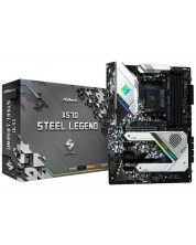 Дънна платка ASRock X570 - Steel Legend, AM4 сокет -1
