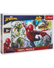 Пъзел Trefl от 200 части - Спайдърмен, Роден да бъде супергерой -1