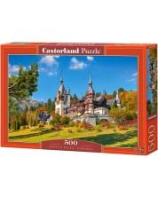 Пъзел Castorland от 500 части - Замъкът Пелес, Румъния