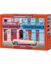 Пъзел Castorland от 1000 части - Стара Хавана, Ассаф Франк