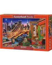 Пъзел Castorland от 1000 части - Светлините на Бруклинския мост