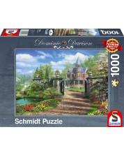 Пъзел Schmidt от 1000 части - Идилично имение, Доминик Дейвисън