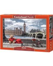 Пъзел Castorland от 500 части - Пътуване до Лондон